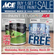buy 1 get 1 free paint sale and more sneade u0027s ace home centers