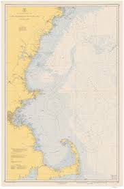 Map Of New England Area by Old Nautical Charts General Charts