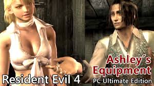 Ashley White Resident Evil 4 Ashley S Equipment White Costume Pc Hd Youtube