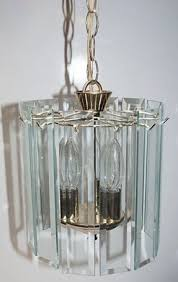 Chandelier Replacement Beveled Glass Chandelier Foter