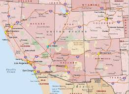 map usa west maps of southwest and west usa the american southwest the western