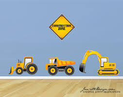 truck wall decals construction truck wall stickers zoom