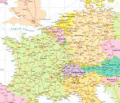 Germany Map Europe by Info Map Of France And Germany Travel