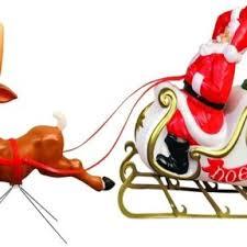 santa sleigh and reindeer general foam santa sleigh and reindeer christmas lights creations