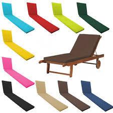 Garden Recliner Cushions Replacement Outdoor Garden Recliner Luxury Cushion Homebase Ebay