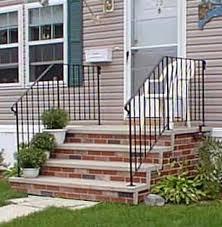 Precast Concrete Stairs Design Shawnee Pre Cast Concrete Steps And Railings By American Concrete