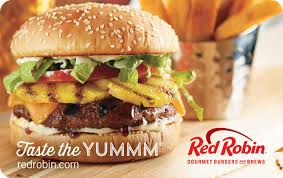 Backyard Burger Fayetteville Ar Sweet Deals Red Robin Burger Egift