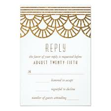 the 25 best art deco wedding reply cards ideas on pinterest
