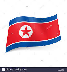 Star Flags National Flag Of North Korea Red Star In White Circle On Red