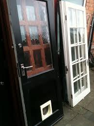 Exterior Cat Door Exterior Back Door With Cat Flap Exterior Doors Ideas
