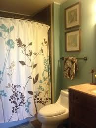 trinity blue shower curtain in blue bed bath u0026 beyond home