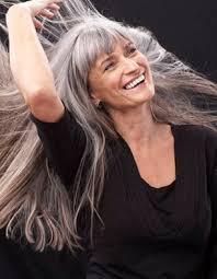 pictures on long gray hair cute hairstyles for girls