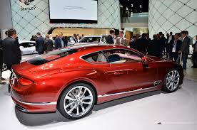 bentley 2018 2018 bentley continental gt iaa frankfurt 2017 04 images bentley