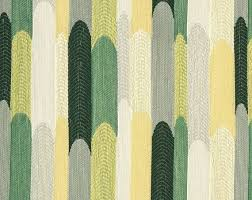 Woven Upholstery Fabric For Sofa Green Yellow Upholstery Abstract Emerald Green Fabric