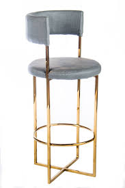 Stainless Steel Bar Stool Ps113010g Carrie Gold Bar Stool Stainless Steel Bar Chair With