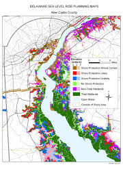 Map Of Wilmington Nc Sea Level Rise Planning Maps Likelihood Of Shore Protection In