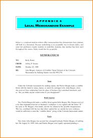 legal memorandum template template idea