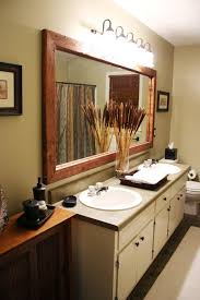 Wood Framed Bathroom Mirrors by 107 Best Bathroom Mirrors Images On Pinterest Bathroom Ideas