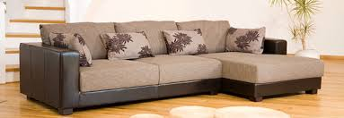 Leather With Fabric Sofas The Sofa Company