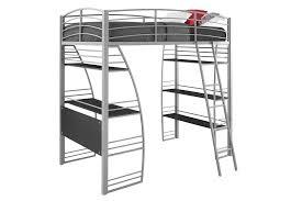 Bunk Bed Metal Frame Dhp Studio Loft Bunk Bed Desk And Bookcase With Metal Frame