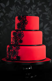 red and black wedding cakes casadebormela com
