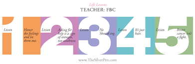 quotes about learning valuable lessons fbc u0027s life lessons the silver pen
