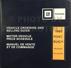 1992 pontiac grand prix repair shop manual original 3 volume set