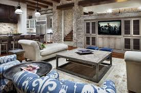 rustic chic home decor living room rustic living room ideas with bright color rustic