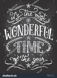 most wonderful time year christmas new stock vector 345520757