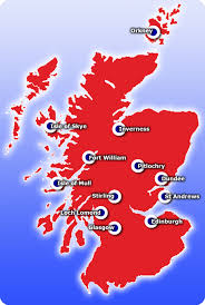 Stirling Scotland Map Scotland City Map Image Gallery Hcpr