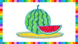 how to draw watermelon roadrunnersae