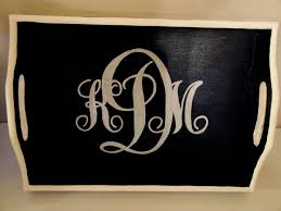 monogramed tray 219 best diy tray images on crafts home and kitchen
