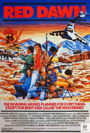 Red Awn Red Dawn Movie Posters From Movie Poster Shop