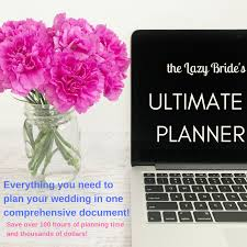 Ultimate Wedding Planner The Lazy Bride Wedding Planning Made Simple