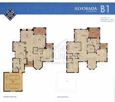 Villa Floor Plan by Arabian Ranches Communities