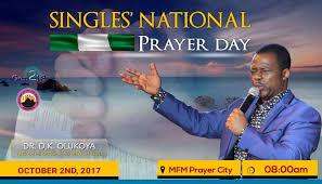 singles prayer day mfm