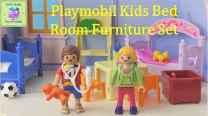 playmobil 5306 children u0027s room furniture set unboxing little