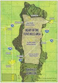 Map Of Ks Map Of The Flint Hills Area Kansas Pinterest Kansas Kansas