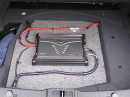 has anyone installed aftermarket amp with subs on the cls