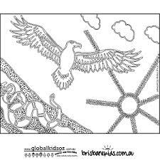 aboriginal colouring pages u2022 brisbane kids