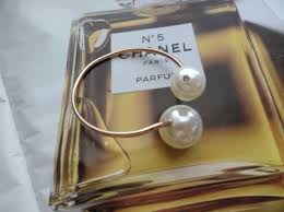 double pearl bracelet images Jewels chanel chanel inspired large pearl cuff double pearl jpg