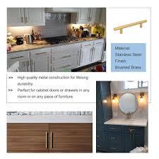 modern kitchen cabinet knobs and pulls homdiy gold 3 5 kitchen cabinet handles pulls brass drawer