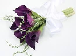 calla bouquet floramatique touch purple calla lilies bouquet