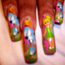 tinkerbell nail art archive style nails magazine