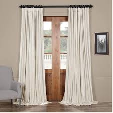 extra wide solid faux silk curtains halfpricedrapes com