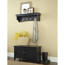 Entryway Bench With Rack Furniture Appealing Hall Tree Storage Bench For Home Furniture