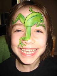 frog face painting for boys hawaii dermatology pictures