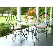 Wrought Iron Bistro Chairs Wrought Iron Bistro Chairs Value Alfresco Home Mans 2 Person