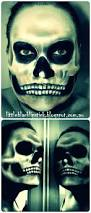 Scary Skeleton Face Painting Halloween by Best 25 Skull Makeup Tutorial Half Ideas On Pinterest Half