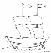 water transportation coloring pages pitara kids network